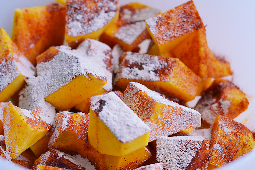 Roasted Butternut Squash / BananaBloom.com #vegan