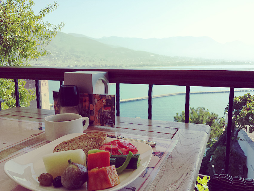Apricot Jam at breakfast in Turkey - http://BananaBloom.com #vegan #cooking #baking #apricots #jam