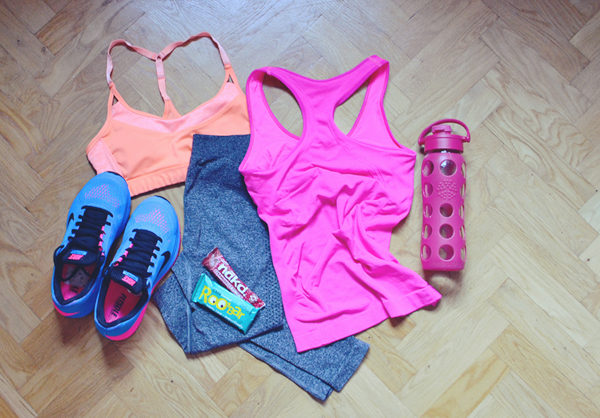 Workout outfit / https://bananabloom.com #workout #exercise #health #fitspo #training #nike #outfit #ootd