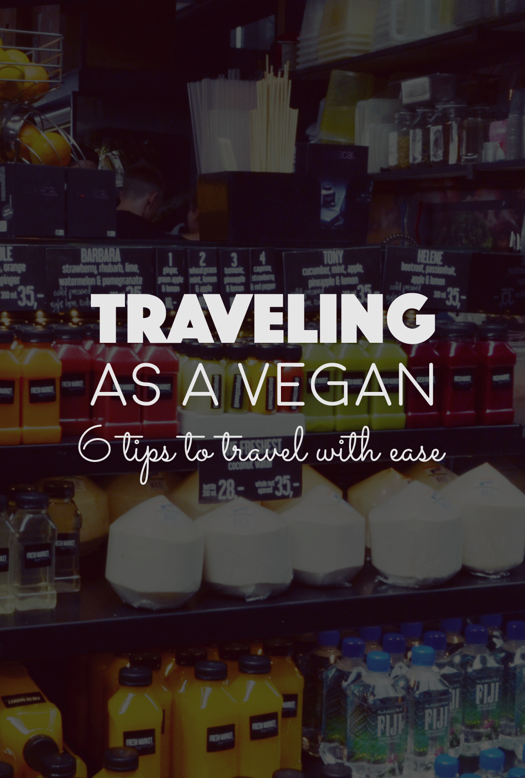 Traveling as a Vegan. 6 Tips to Travel With Ease   http://BananaBloom.com