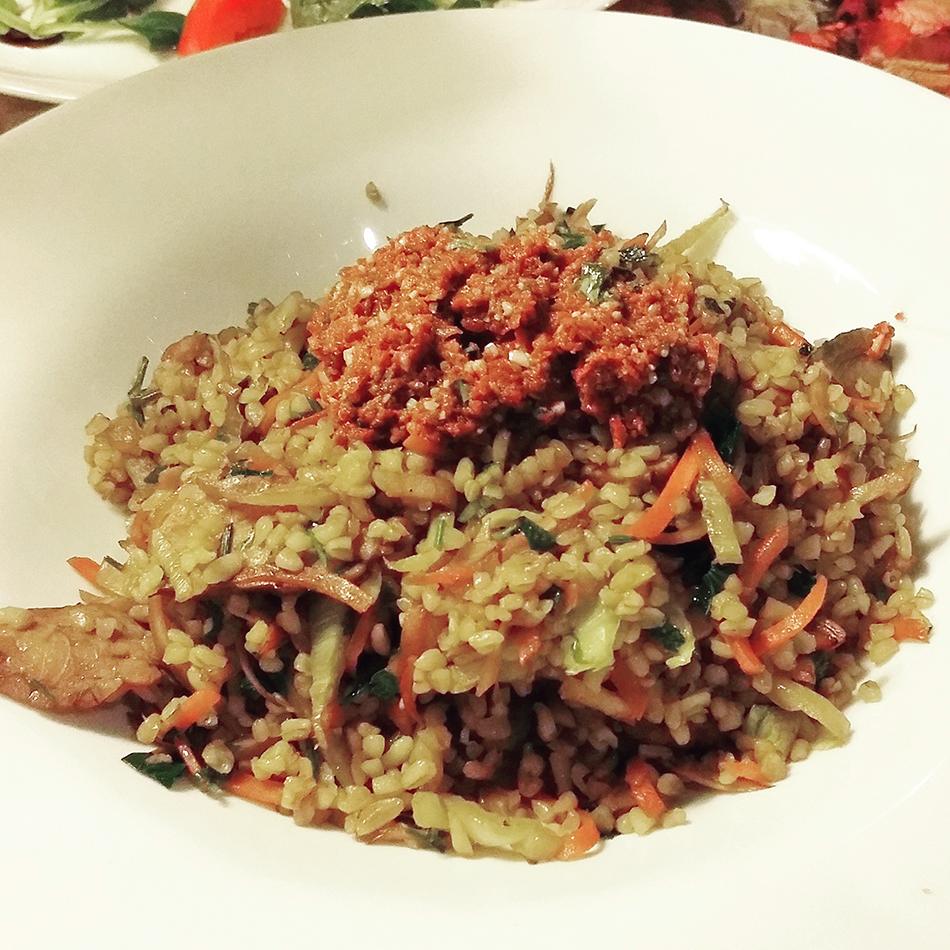 Lehka Hlava Prague // http://BananaBloom.com #prague #vegan #LehkaHlava #restaurant #vegetarian #foodie #travel #Europe #review