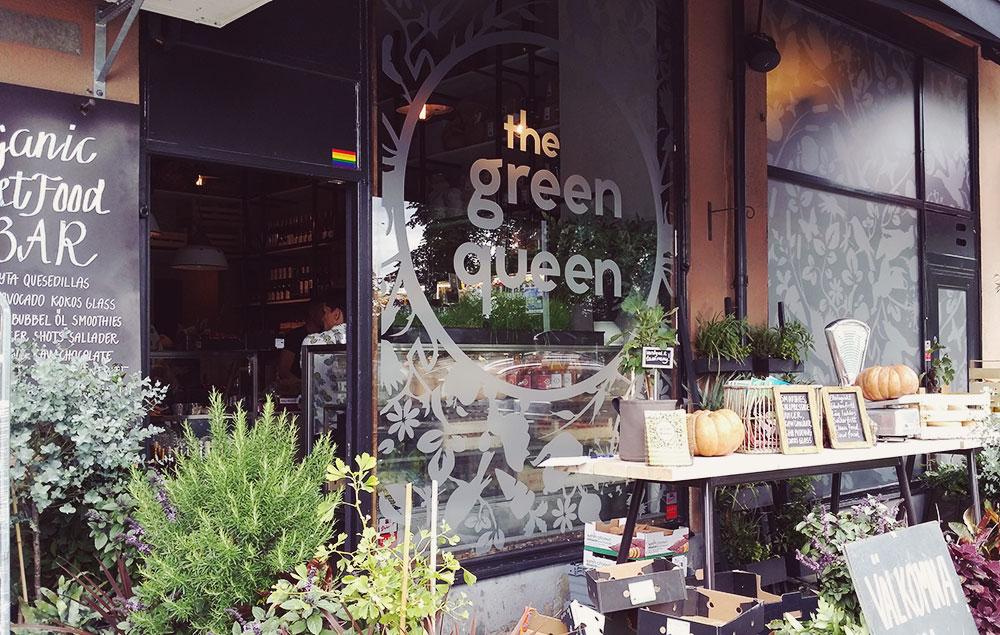 The Green Queen Stockholm Lunch // http://BananaBloom.com #vegan #stockholm #vegantravel #healthyfood