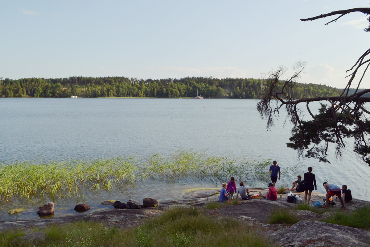 Camping in Stockholm // http://BananaBloom.com #camping #stockholm #nature #adventure #outdoor #vacation