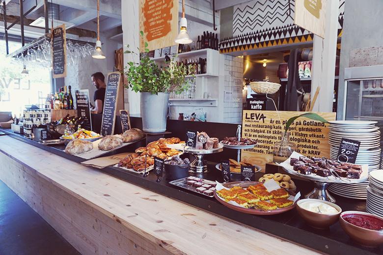 Leva Kungslador // http://BananaBloom.com #lunch #dining #vegan #travels #gotland #restaurant
