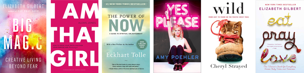 6 Books to Be Inspired By // http://BananaBloom.com #inspiration #dreams #books