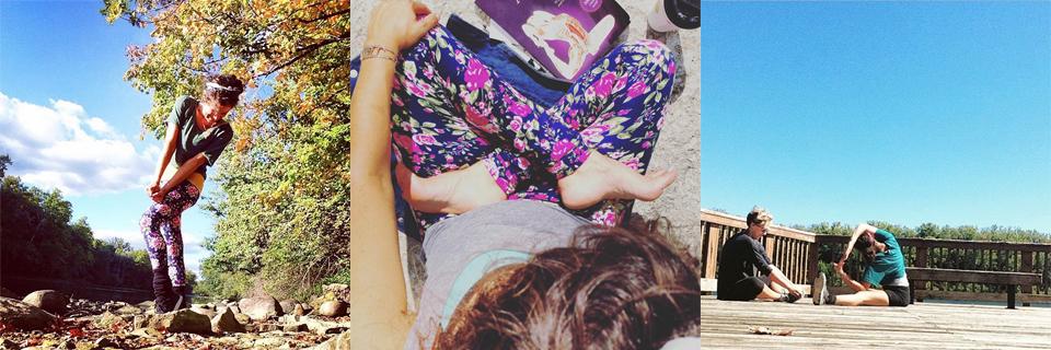 Banana Bloom Instagram Inspirations // http://BananaBloom.com #instagram #inspiration #yoga #plantbased #vegan