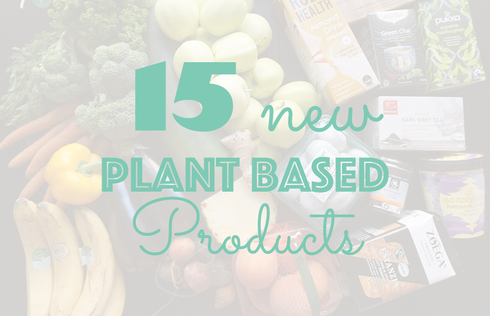 New Plant Based Products // http://BananaBloom.com #plantbased #vegan #sweden #food
