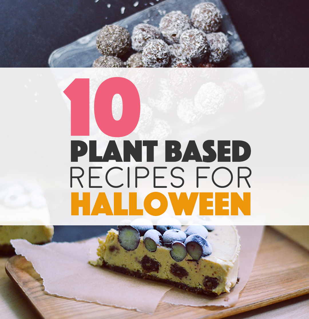 Plant Based Halloween Recipes | BananaBloom.com