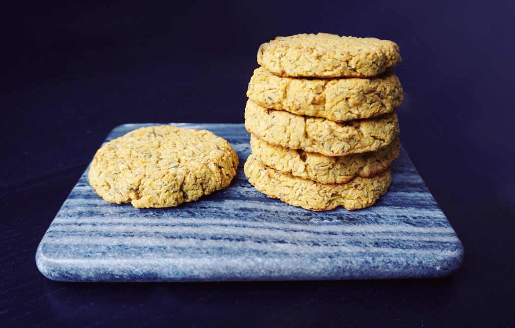 Carrot Chickpea Patties, Gluten Free & Vegan | http://BananaBloom.com