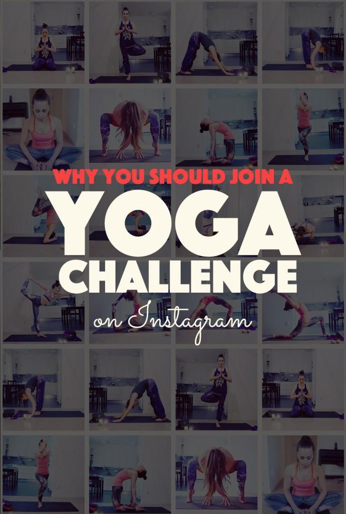 Why You Should Join a Yoga Challenge on Instagram |http://BananaBloom.com #yoga #yogachallenge #yogaeverydamnday