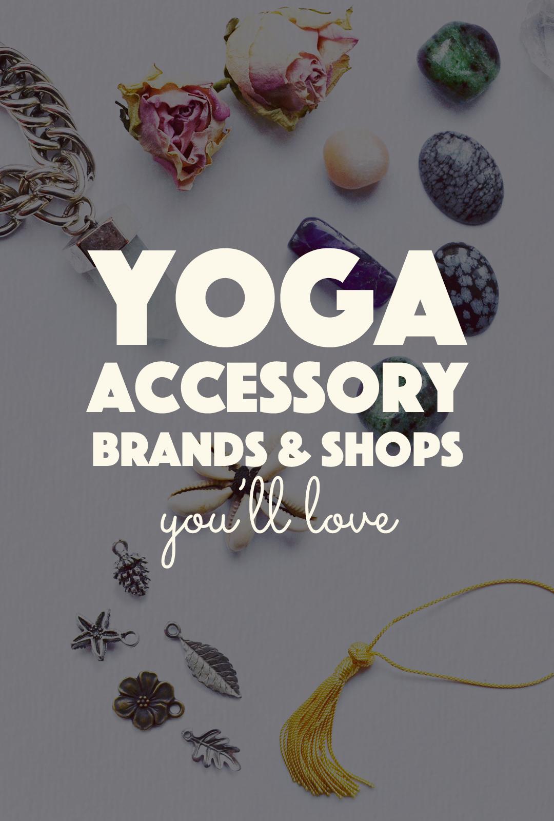 20 Yoga Accessory Shops You'll Love   http://BananaBloom.com #yoga #accessories #yogi