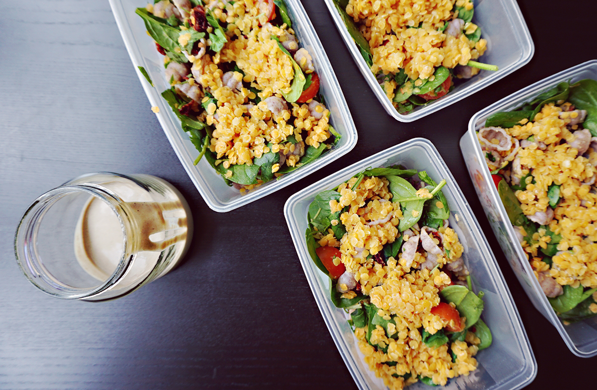Easy Vegan Lunch Boxes | http//BananaBloom.com