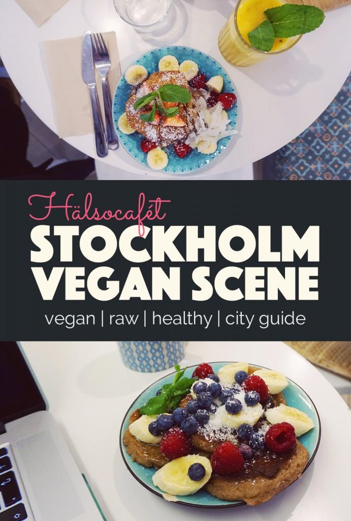 Stokholm Vegan Scene Hälsocafet  http://BananaBloom.com