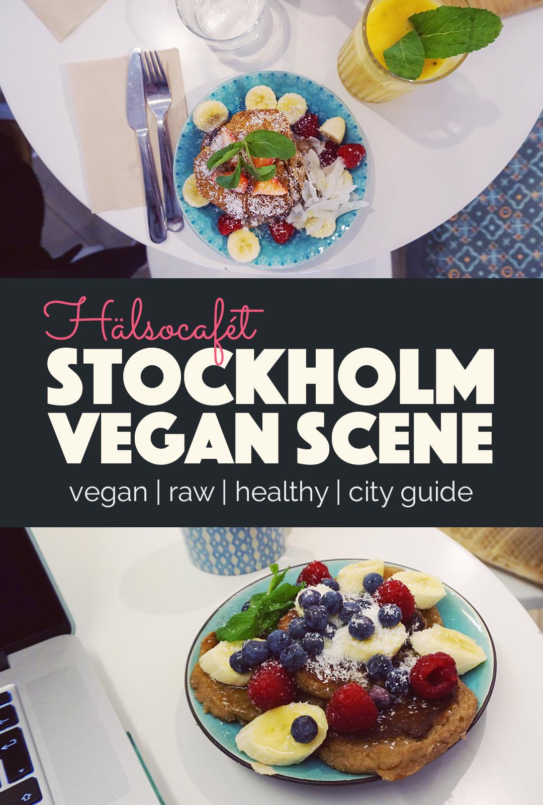 Stokholm Vegan Scene Hälsocafet |http://BananaBloom.com