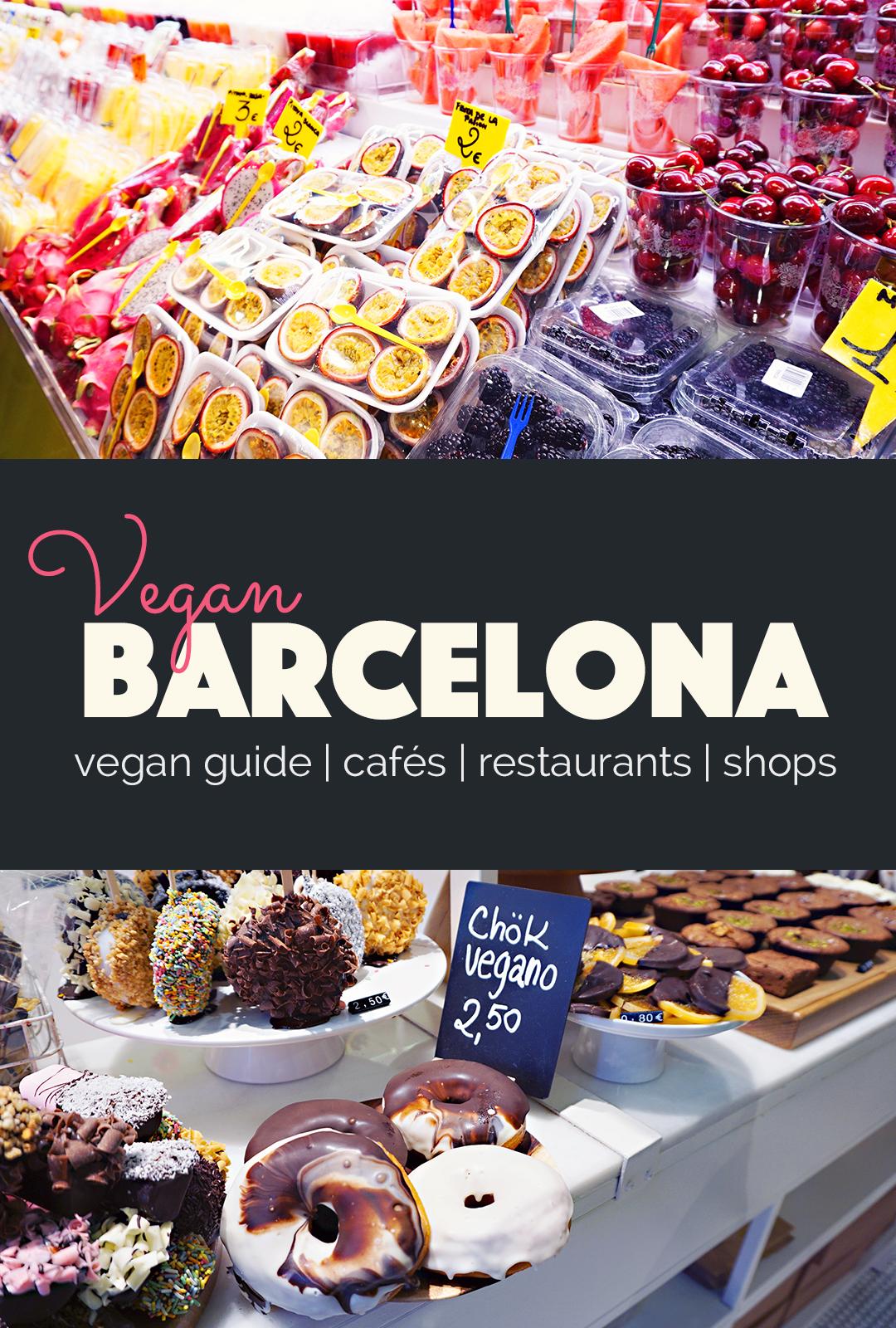 Vegan Guide to Barcelona   http://BananaBloom.com #veganguide #vegantravel #vegan #barcelona