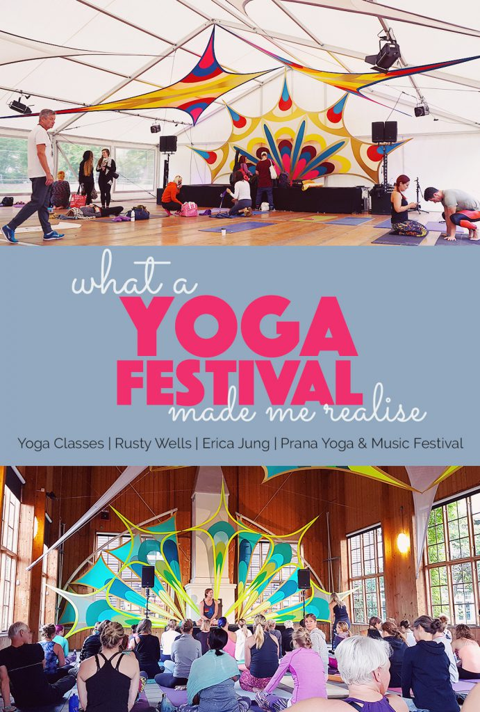 What a yoga Festival made me realise | http://BananaBloom.com #yogafestival #yoga