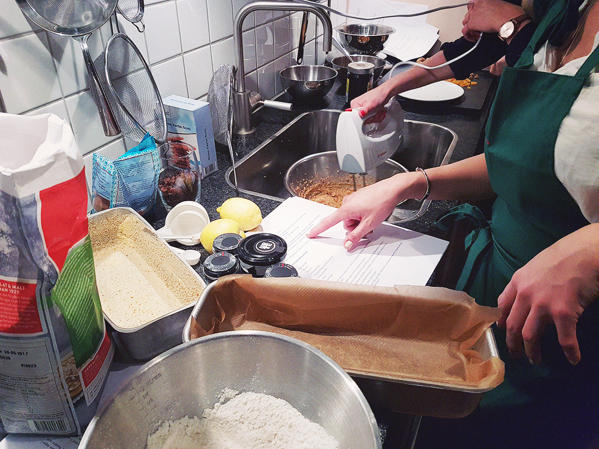 Christmas Baking with Urtekram |http://BananaBloom.com
