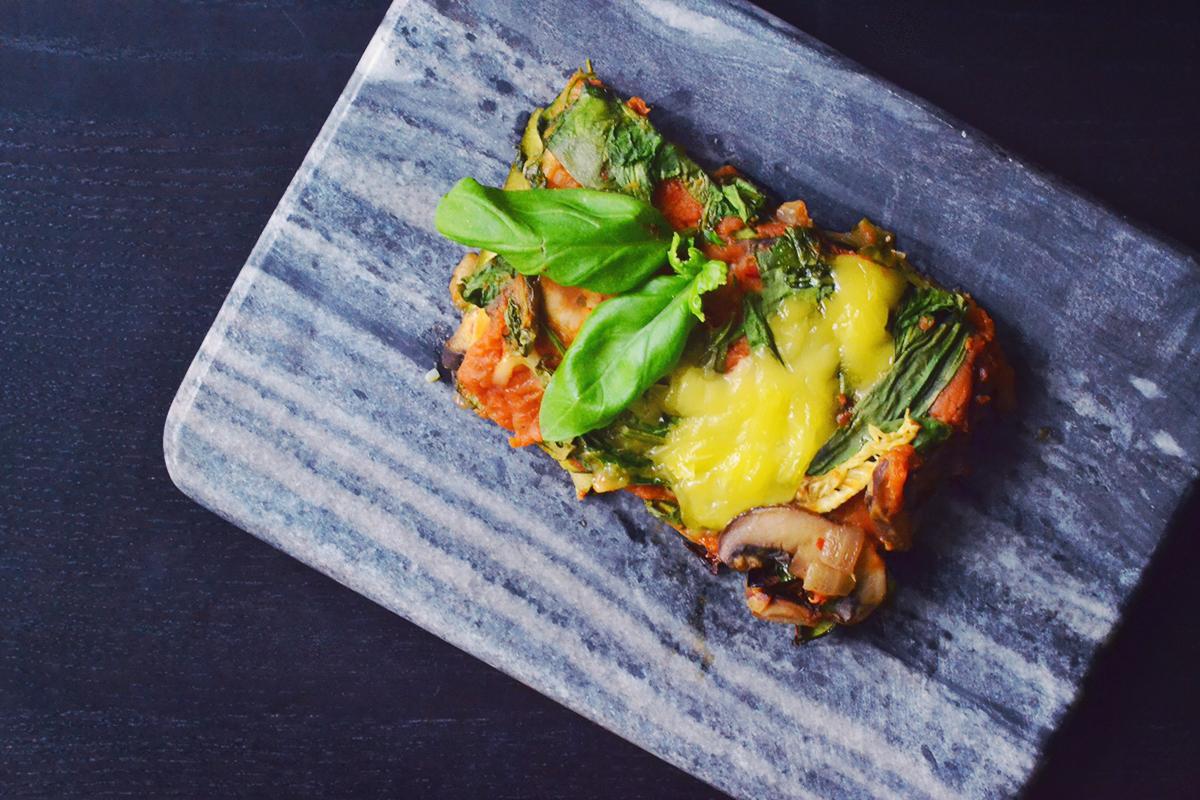 Sweet Potato & Zucchini Lasagna