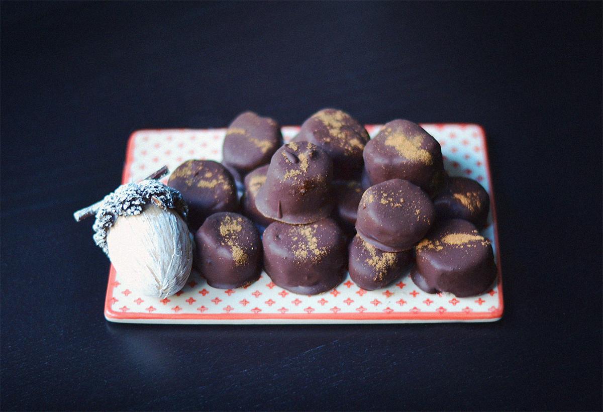 Chocolate Banana Truffles |http://BananaBloom.com