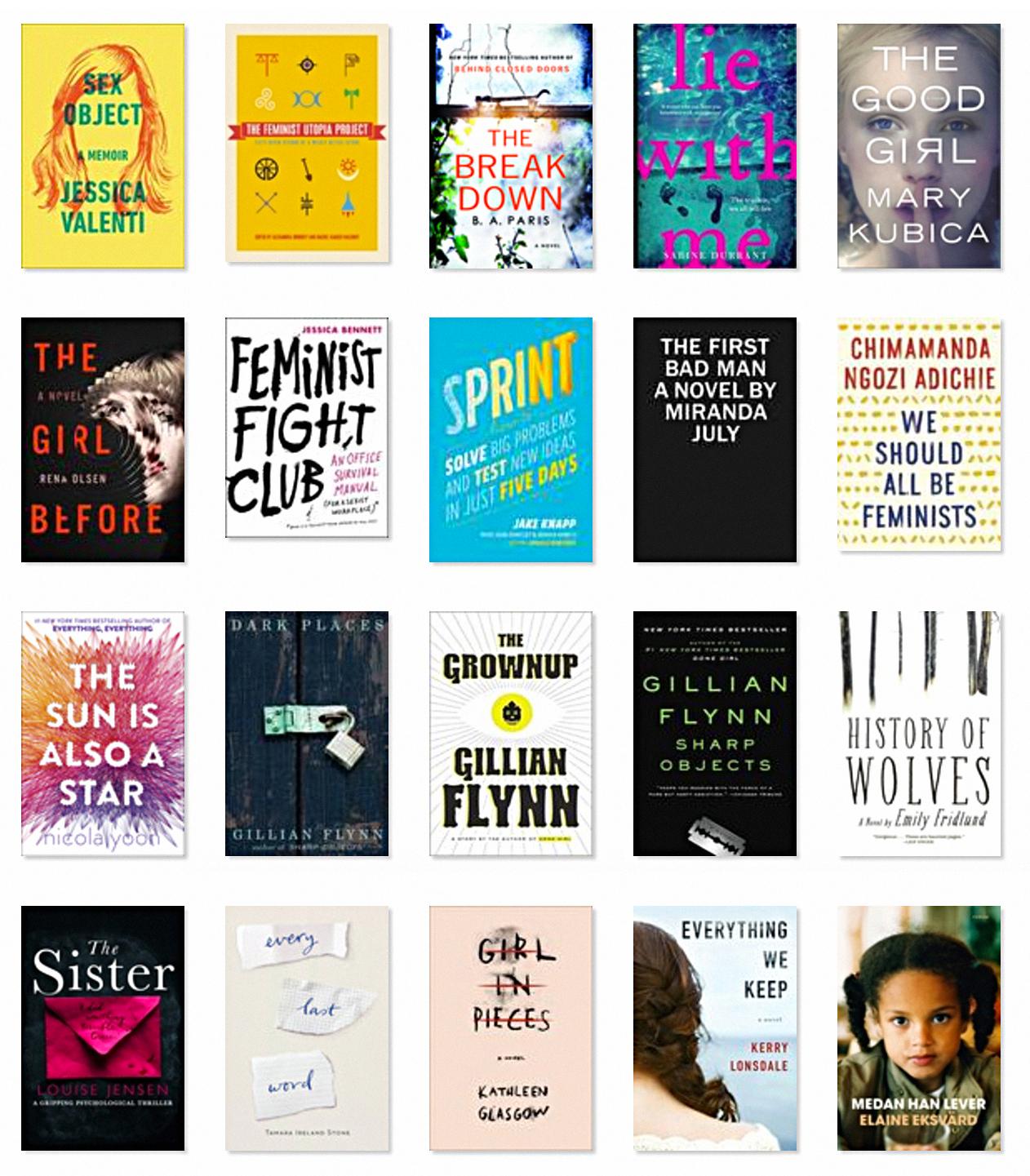 20 Books I've Read (so far) in 2017