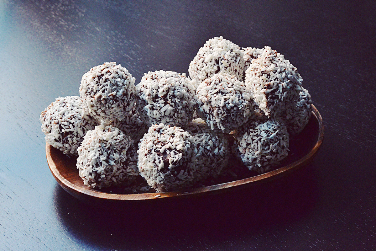 Chocolate Dipped Chocolate Balls |http://BananaBloom.com