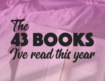 The 43 Books I've Read This Year || http://BananaBloom.com