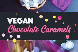 Vegan Chocolate Caramels |http://BananaBloom.com