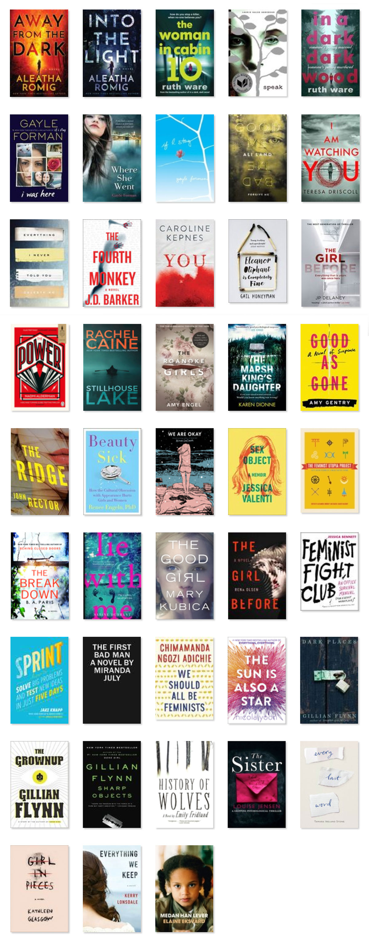 The 43 Books I've Read This Year | http://BananaBloom.com