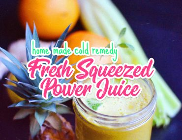 Fresh Squeezed Power Juice | http://BananaBloom.com