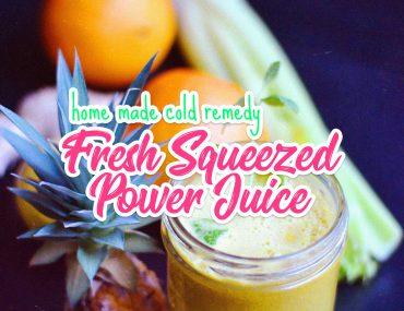Fresh Squeezed Power Juice | http://BananaBloom.com
