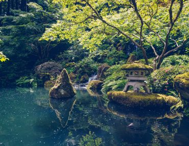 A walk through Portland Japanese Garden | BananaBloom.com